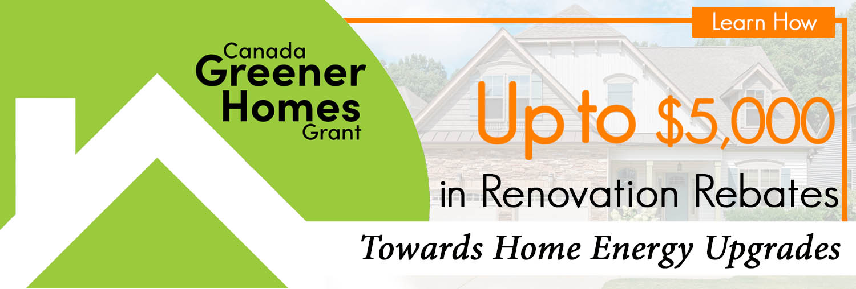 Greener Home Banner